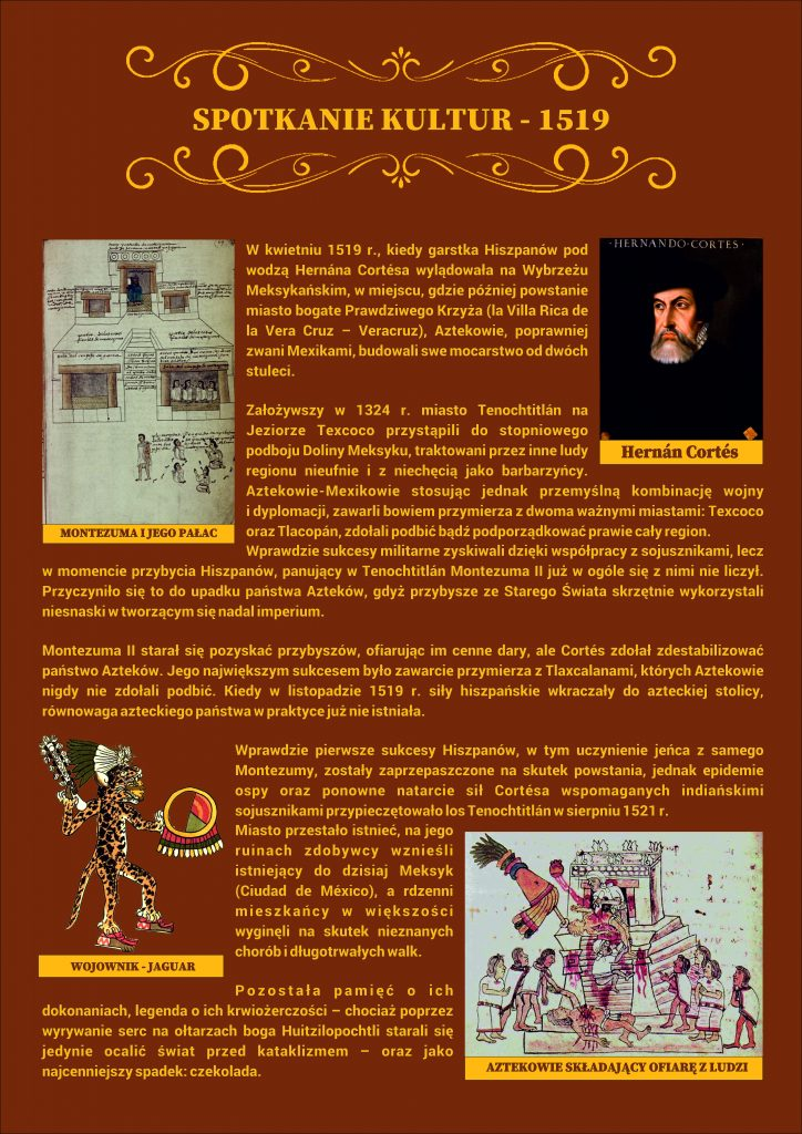 Plansza numer 2 - SPOTKANIE KULTUR - 1519