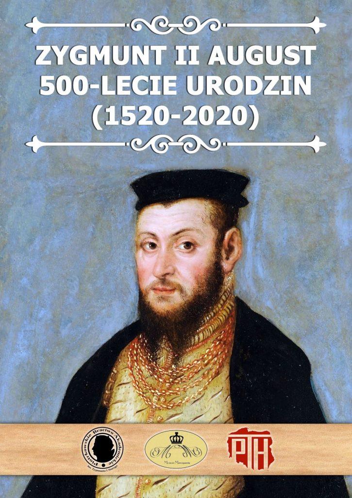 Plansza numer 1 - ZYGMUNT II AUGUST 500-LECIE URODZIN
